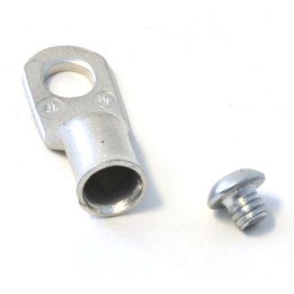 16463 Warn vaijeriliitin + ruuvi - 8mm vaijerille