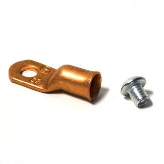 16464 Warn vaijeriliitin + ruuvi - 9,5mm vaijerille