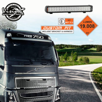 """XIL-PX36MGVOKIT VISION X XMITTER PRIME XTREME 24V 21"""" 180W 10°/25° VOLVO FH4"""