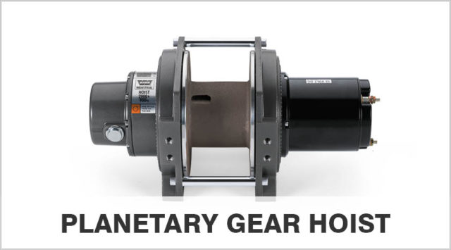 Planetary Gear Hoist