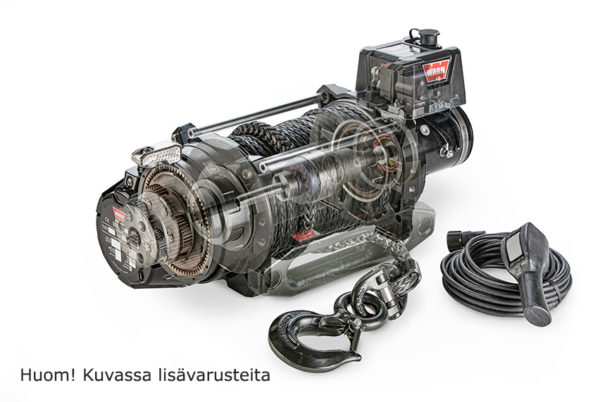 104440 SÄHKÖVINSSI 24V WARN SERIES G2 12 DC, LEIKATTU