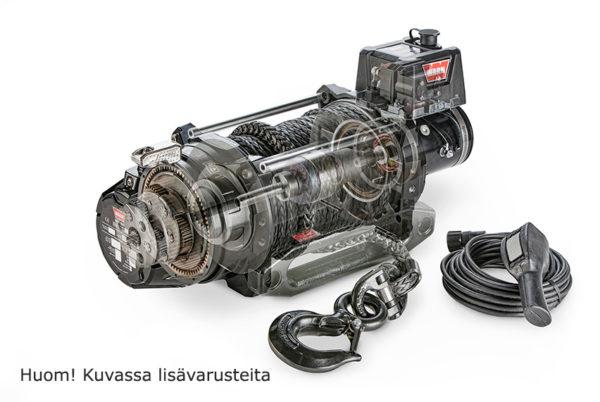 104520 SÄHKÖVINSSI 12V WARN SERIES G2 15 DC, LEIKATTU